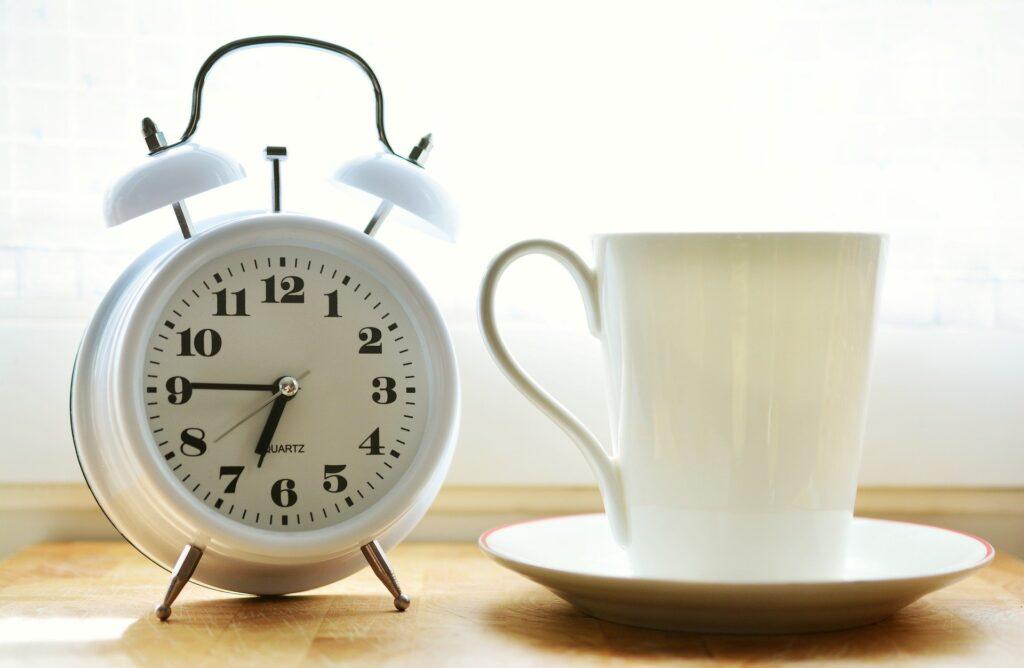 時計 コーヒー