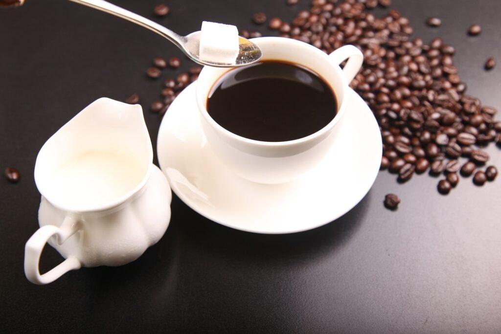 コーヒー 砂糖