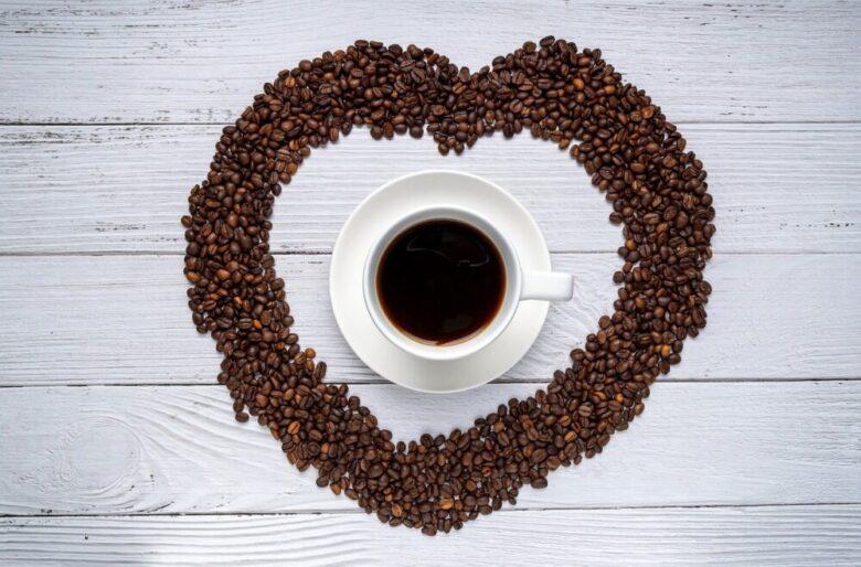 コーヒー豆 ハート