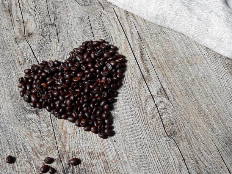 コーヒー ハート