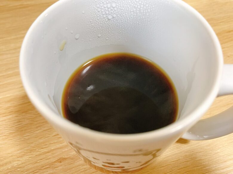 青海珈琲ドリップバッグ淹れ方 完成