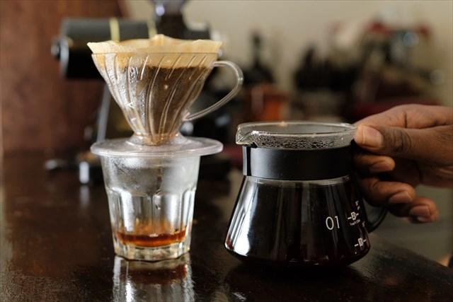 コーヒー淹れ方⑦